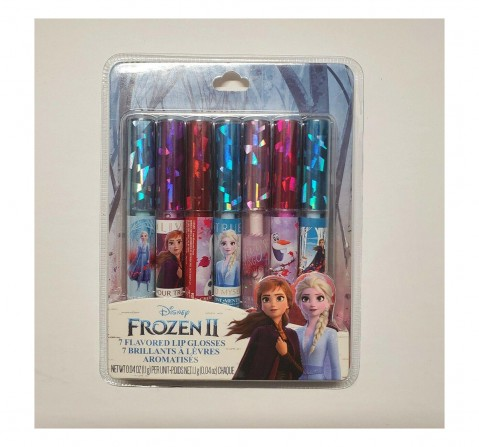 Townley Girl Frozen Ii - 7 Pk Lip Gloss Toileteries and Makeup for Kids age 3Y+