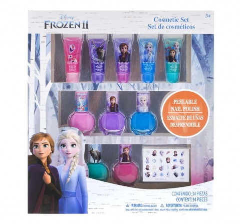 Melissa & Doug Disney Frozen 2 - 5 Pack Nail Polish And Lip Tube Set Toileteries And Makeup for Kids Age 3Y+