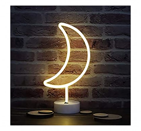 On Time Neon Lights Moon Room Furnishing for Kids age 5Y+