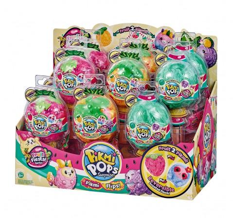 Pikmi Pops Flips  Fruit Fiesta Single Pack Novelty for Girls age 5Y+ - 7.1 Cm