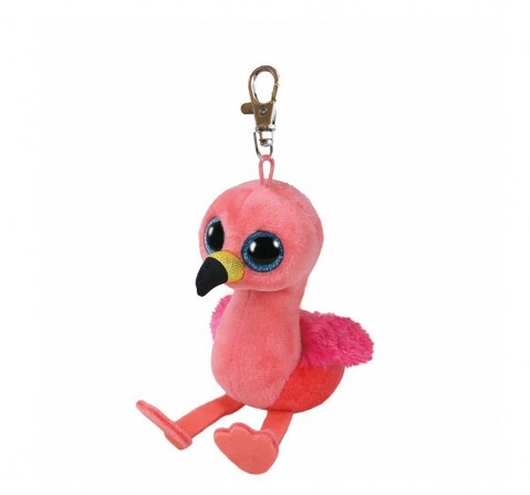 Ty Toys Gilda - Pink Flamingo Clip Plush Accessories for Kids Age 3Y+ - 8.5 Cm