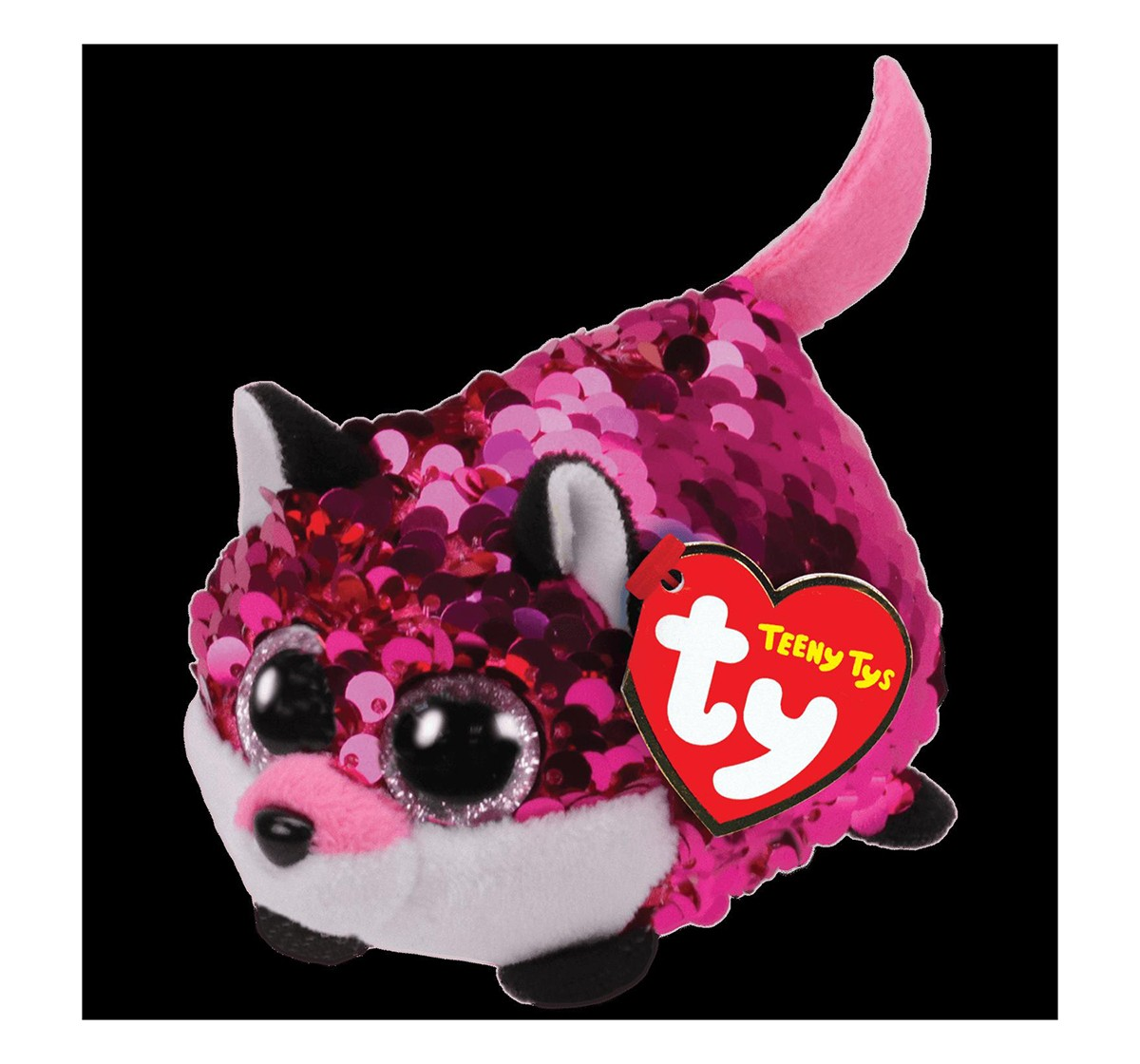 Ty Jewel - Flippables Fox Teeny Ty Novelty for Kids age 3Y+ - 10 Cm