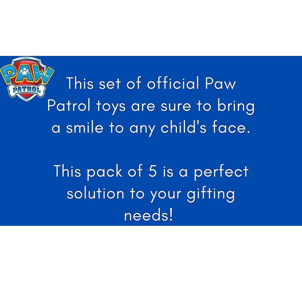 Paw Patrol 3 Flying Discs for Kids age 3Y+