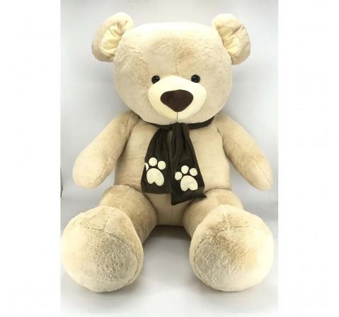 Jasco Jumbo Teddy, 140Cm Teddy Bears for Kids Age 3Y+ - 140 Cm (Beige)