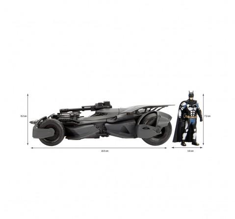 Dc Batman Justice League Batmobile 1:24 Vehicles for Kids age 8Y+ (Grey)