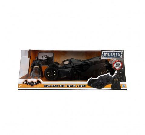 Dc Batman Arkham Knight Batmobile 1:24 Vehicles for Kids age 8Y+ (Black)
