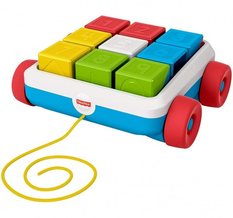 Fisher Price Fisher-Price Pull-Along Activity Blocks Activity Toys for Kids age 6M+