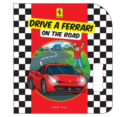 Drive A Ferrari On The Road: Illustrated Board Book, 12 Pages Book By Franco Cosimo Panini, Board Book
