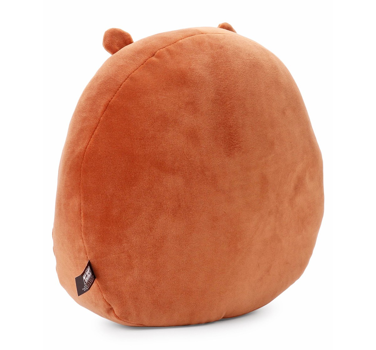 We Bare Bears We Bare Bear Laughing Grizzly Bear Face Plush 25 Cm Character Soft Toys for Kids age 1Y+ - 25 Cm (Brown)