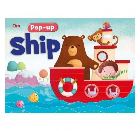 Pop Up Ship 10 Pages Book By Kirti Pathak, Board Book