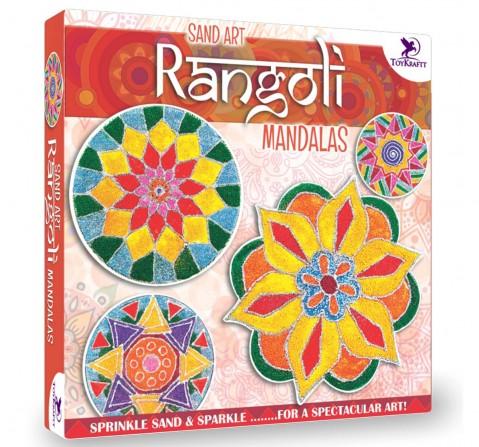 Toy Kraft Sand Art Rangoli Mandala, Multicolor, 5Y+