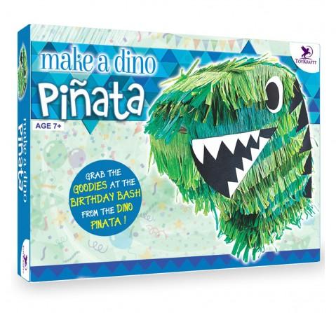 Toy Kraft Make A Dino - Pinata, Multicolor, 7Y+