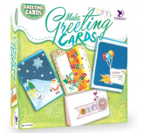 Toy Kraft Make Greeting Cards, Multicolor, 5Y+