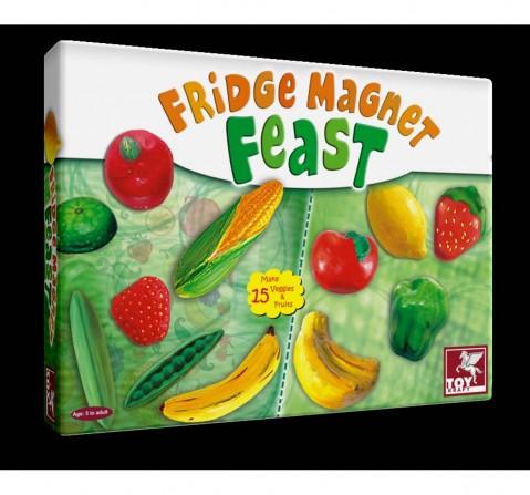 Toy Kraft Fridge Magnet Feast DIY Art & Craft Kits for Kids age 5Y+