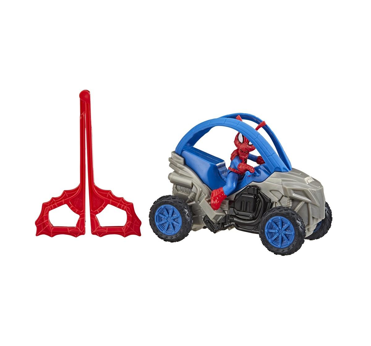 "Marvel Spider-Man Vehicle & 6""Figure Assorted Action Figures for Kids age 4Y+"