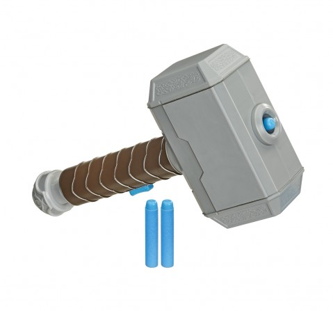 Marvel Nerf Power Moves Marvel Avengers Thor Hammer Action Figure Play Sets for Boys age 5Y+