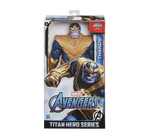 Marvel Avengers Titan Hero Series Blast Gear Deluxe Thanos Action Figure Action Figures for Kids age 4Y+