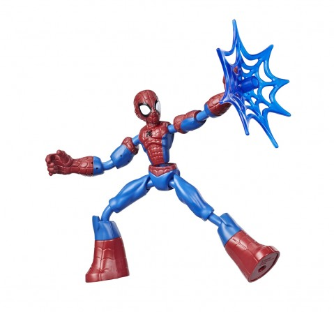 Marvel Spider-Man BEND AND FLEX 6-Inch Flexible Action Figures for BOYS age 6Y+