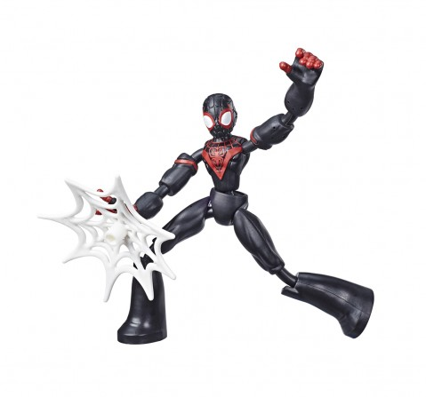 Marvel Spider-Man Bend and Flex Miles Morales 6-Inch Action Figures for BOYS age 6Y+