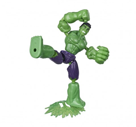 Marvel Avengers Bend and Flex Hulk Action Figures for BOYS age 6Y+