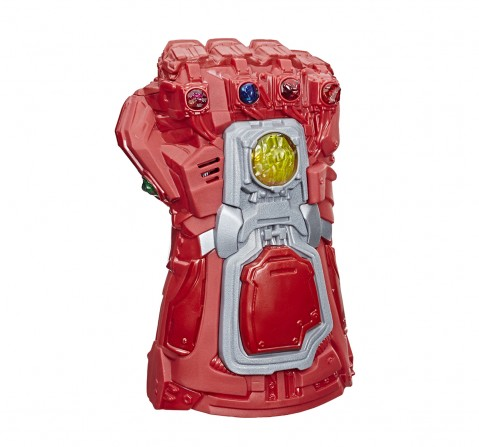 Marvel Avengers: Endgame Red Infinity Gauntlet Electronic Fist Action Figure with Light and Sound for Boys age 5Y+