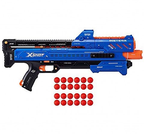 X-Shot Chaos Orbit Blaster with 24 Dart Ball Blasters for Kids age 14Y+