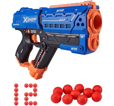 X-Shot Chaos Meteor Blaster with 12 Dart Balls  Blasters for Kids age 14Y+