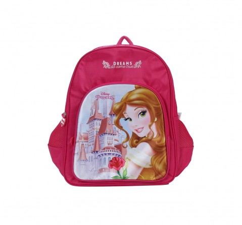 """Disney Princess Castle 18"""" Backpack Bags for Girls age 3Y+"""