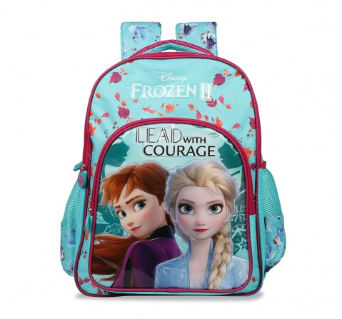 Disney Frozen2 Lead With Courage School Bag 41 Cm Bags for Girls age 7Y+ (Turquoise)