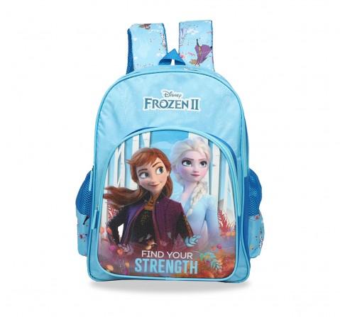 Disney Frozen2 Trust Your Journey School Bag 41 Cm Bags for Girls age 7Y+ (Blue)