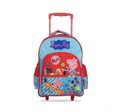 Excel Production Peppa Pig Fun Play School Trolley Bag 41 Cm Bags for Kids Age 7Y+