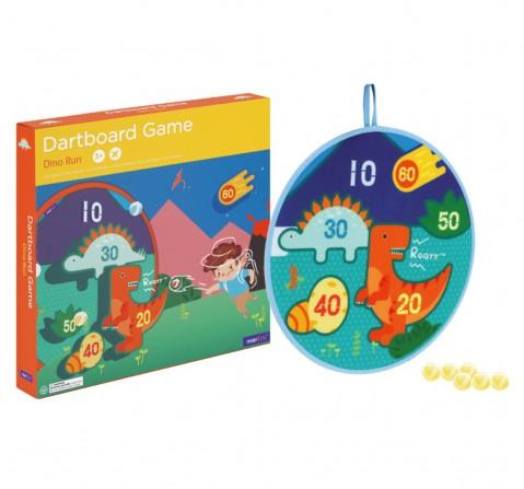 Hamleys Dart Board Game Dino World, Unisex, 3Y+ (Multicolor)