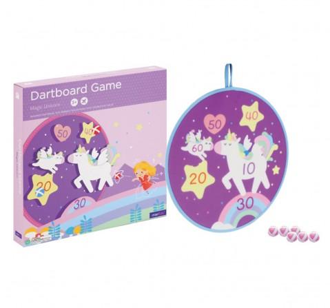 Hamleys Dart Board Game Magic Unicorn, Unisex, 3Y+ (Multicolor)