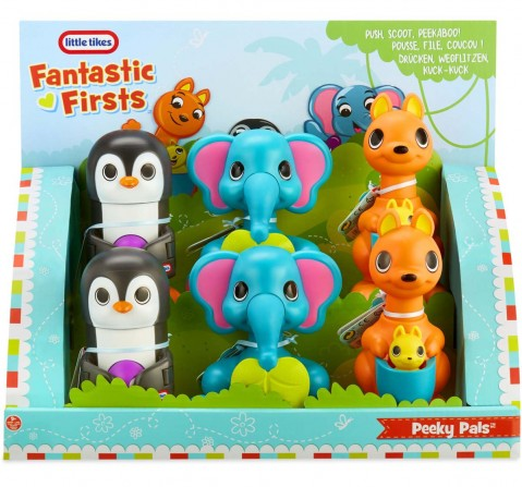 Little Tikes Peeky Pals Assorted Early Learner Toys for Kids Age 9M+