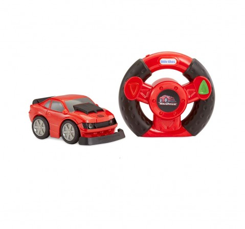 Little Tikes Youdrive- Red Muscle Car Activity Toys for Kids Age 3M+