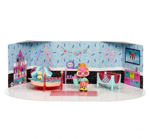 LOL Surprise Furniture with Doll, Collectible Dolls for Girls age 3Y+ (Assorted)