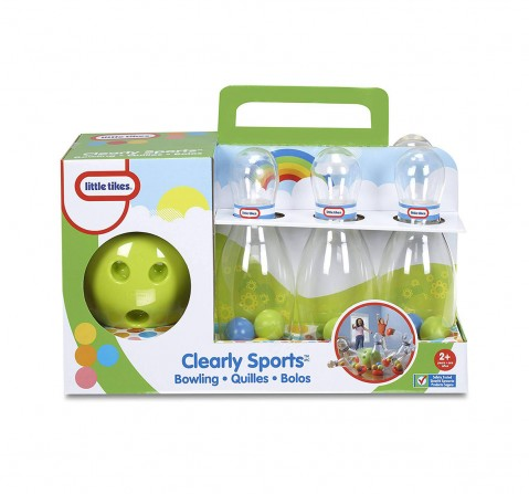 Little Tikes Clearly Sports  Bowling Indoor Sports for Kids age 2M+