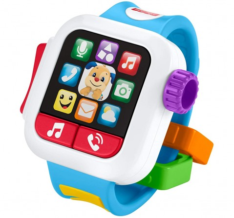 Fisher-Price Laugh & Learn Time to Learn Smartwatch Learning Toys for Kids age 6M+