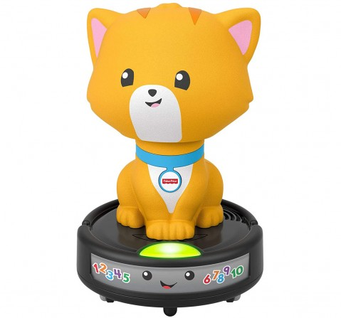 Fisher-Price Laugh & Learn Crawl-After Cat on a Vac Learning Toys for Kids age 9M+