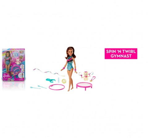 Barbie Teresa Gymnastics Doll, Dreamhouse adventure, Dolls & Accessories for Girls age 3Y+
