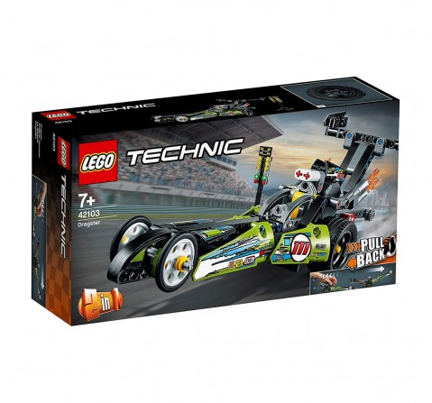 Lego Technic Dragster (225 Pcs) 42103  Blocks for Kids age 7Y+