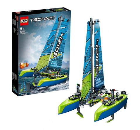 Lego Technic Catamaran (404 Pcs) 42105  Blocks for Kids age 8Y+
