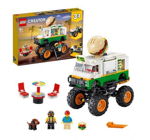 Lego Creator 31104 Monster Burger Truck  Blocks for Kids age 8Y+