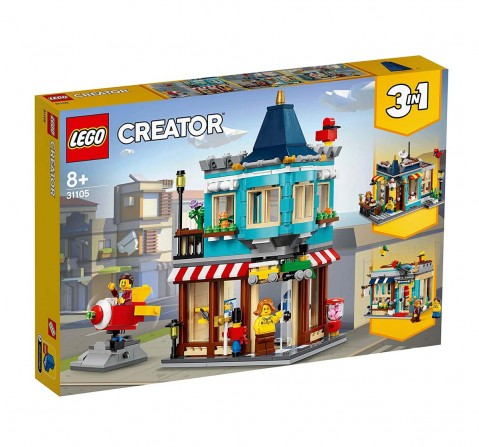 Lego Creator Townhouse Toy Store (554 Pcs) 31105 Blocks for Kids age 8Y+
