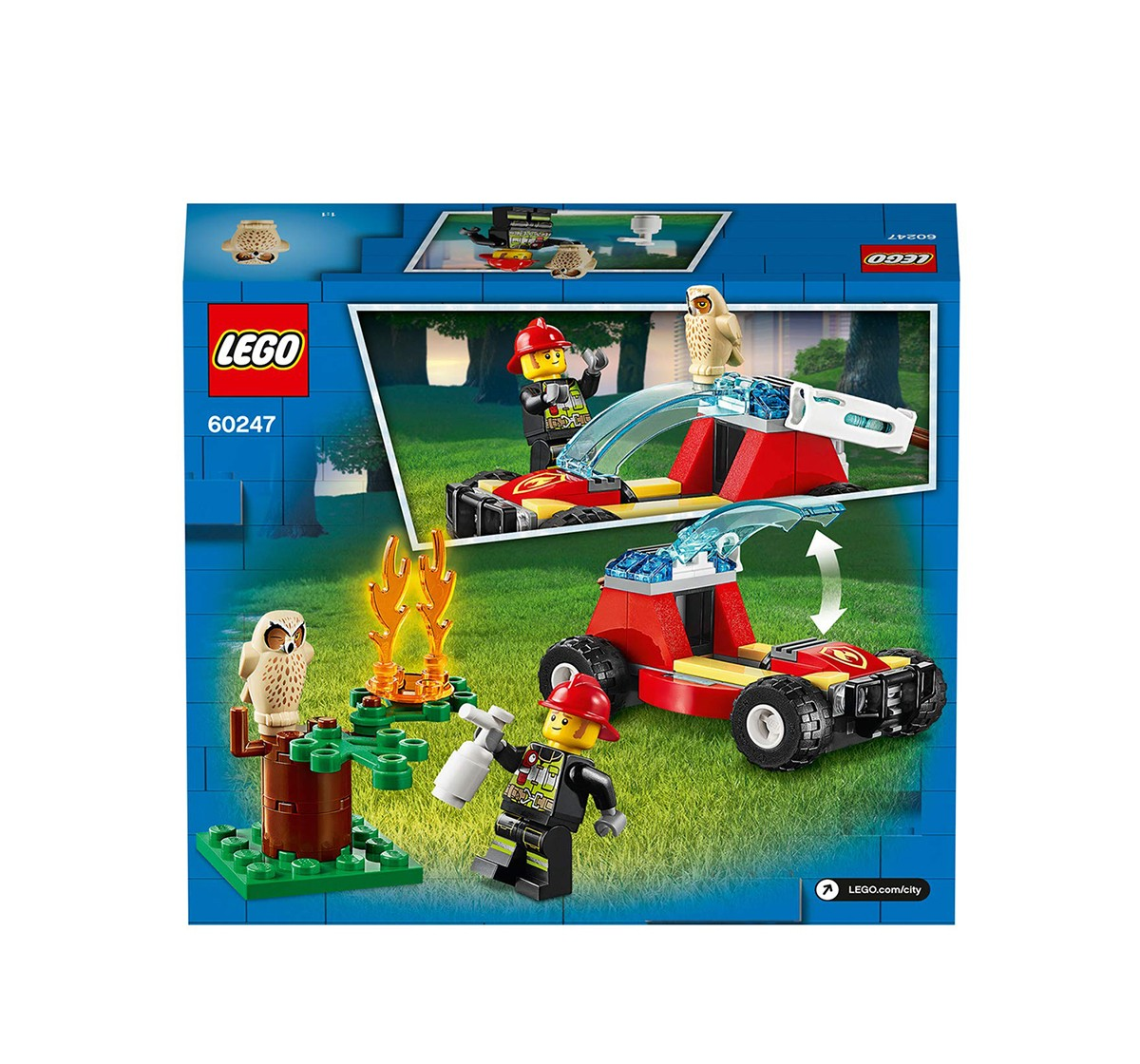 Lego 60247 Forest Fire  Blocks for Kids age 5Y+