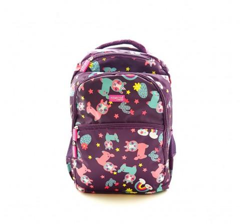 Hamster London Llama Backpack Travel for Kids Age 3Y+ (Purple)