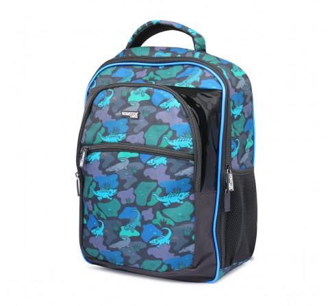 Hamster London Alligator Backpack for Kids age 3Y+ (Black)