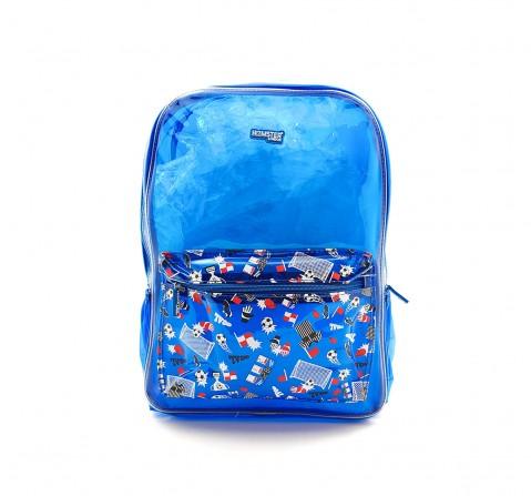 Hamster London Football Backpack for Kids age 3Y+ (Blue)