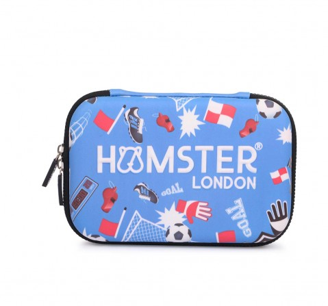 Hamster London Hardcase Football Bags for Kids Age 3Y+ (Blue)