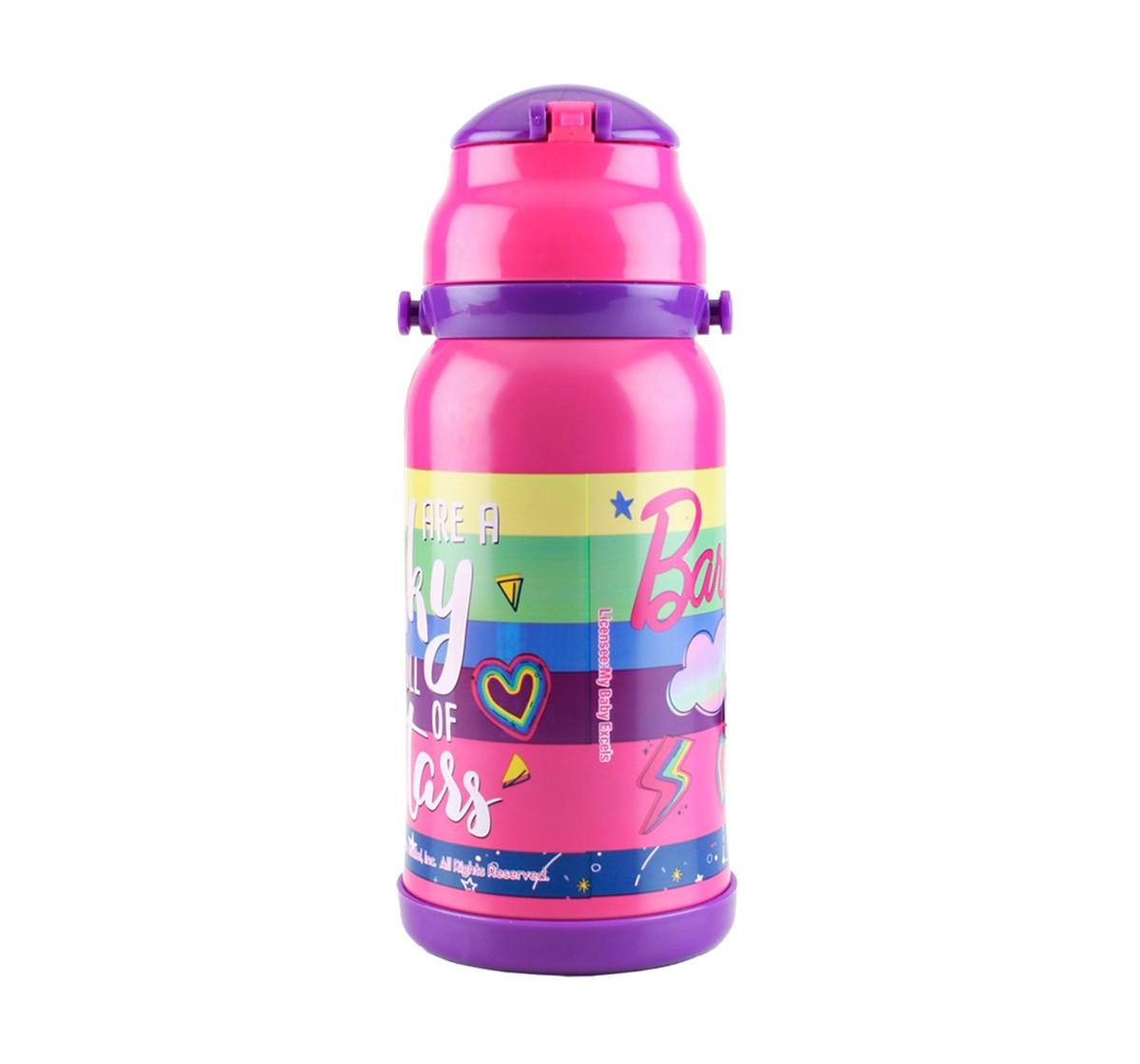 Barbie Barbie Stars Steel Inner Water Bottle 460 Ml Bags for Girls age 5Y+